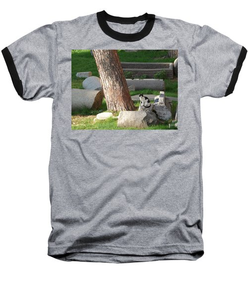 Baseball T-Shirt featuring the photograph Roman Beauty by Evelyn Tambour