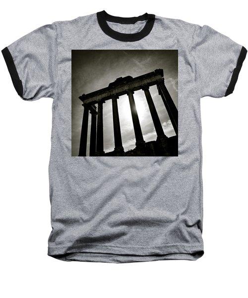 Roman Forum Baseball T-Shirt