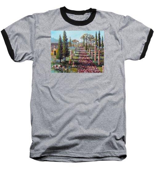 Roman Road Baseball T-Shirt