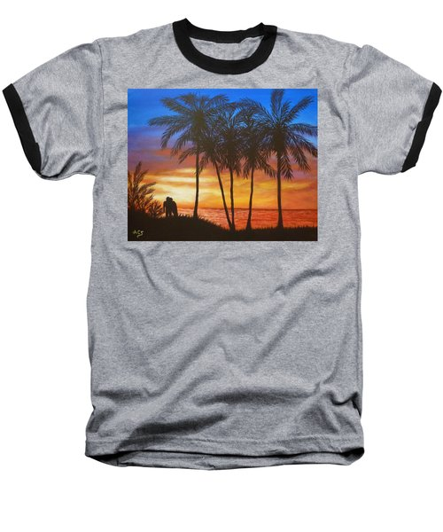 Romance In Paradise Baseball T-Shirt