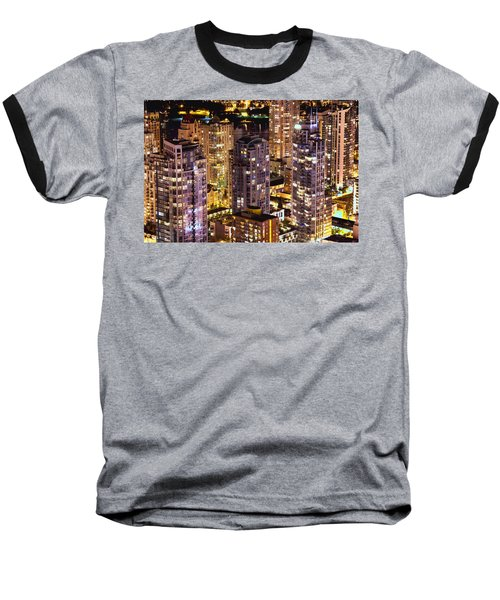 Baseball T-Shirt featuring the photograph Romance In Yaletown Mcdxxxi by Amyn Nasser