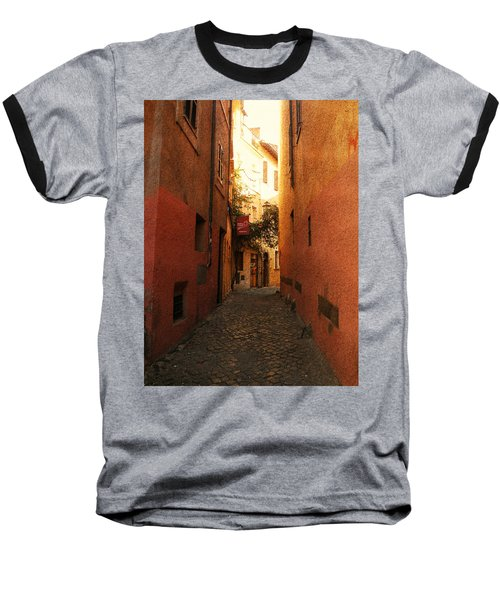 Baseball T-Shirt featuring the photograph Romano Cartolina by Micki Findlay