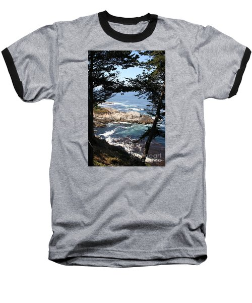 Romantic California Coast Baseball T-Shirt