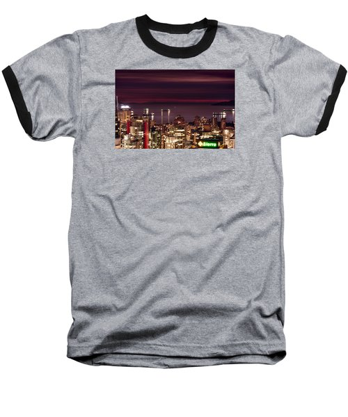 Baseball T-Shirt featuring the photograph Romantic English Bay Mdcci by Amyn Nasser