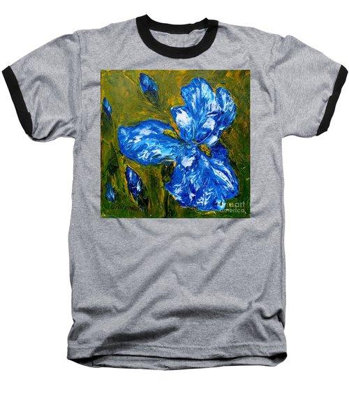 Romantic Iris Baseball T-Shirt