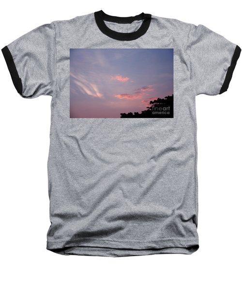 Romantic Sky Baseball T-Shirt by Kiran Joshi