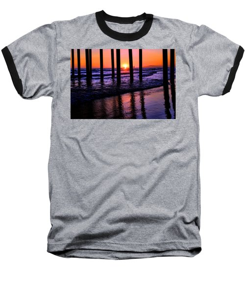 Baseball T-Shirt featuring the photograph Romantic Stroll by Tammy Espino