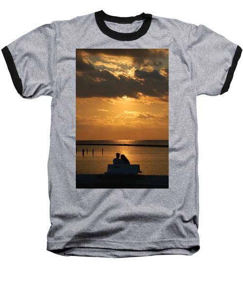 Romantic Sunrise Baseball T-Shirt