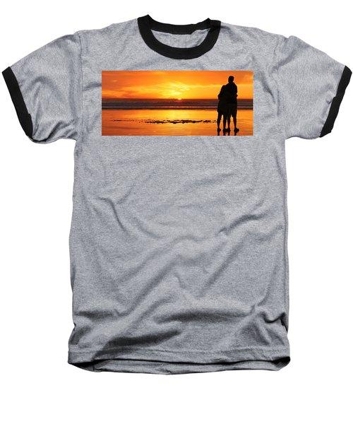 Romantic Sunset  Baseball T-Shirt