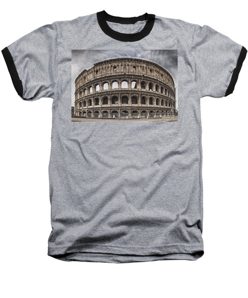 Rome Colosseum 02 Baseball T-Shirt