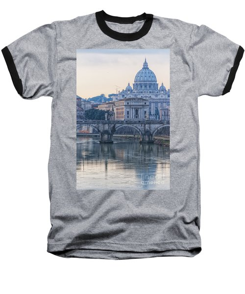 Rome Saint Peters Basilica 02 Baseball T-Shirt