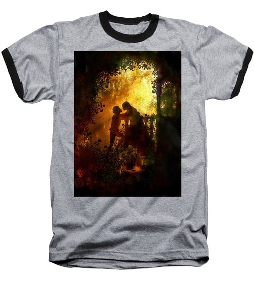 Romeo And Juliet - The Love Story Baseball T-Shirt
