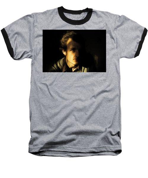 Ron Harpham Baseball T-Shirt by Ron Harpham