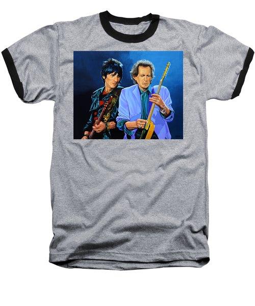 Ron Wood And Keith Richards Baseball T-Shirt