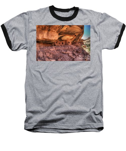 Roof Falling In Ruin 2 Baseball T-Shirt