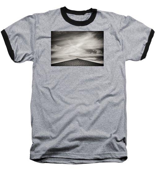 Baseball T-Shirt featuring the photograph Rooftop Sky by Darryl Dalton