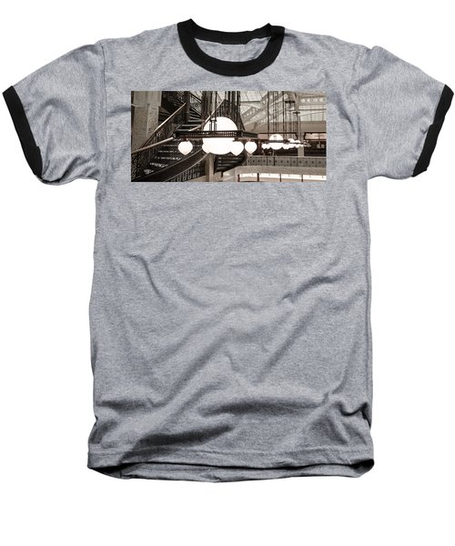 Rookery Building Lights Baseball T-Shirt
