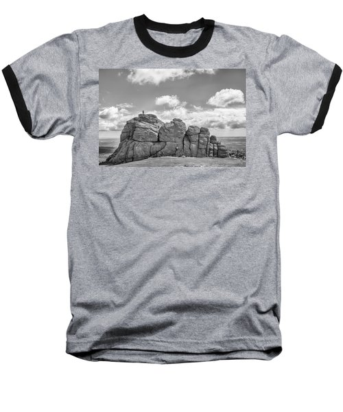 Baseball T-Shirt featuring the photograph Room On Top by Howard Salmon