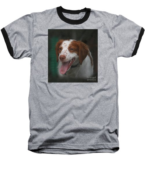 Rooney At The Back Door Baseball T-Shirt