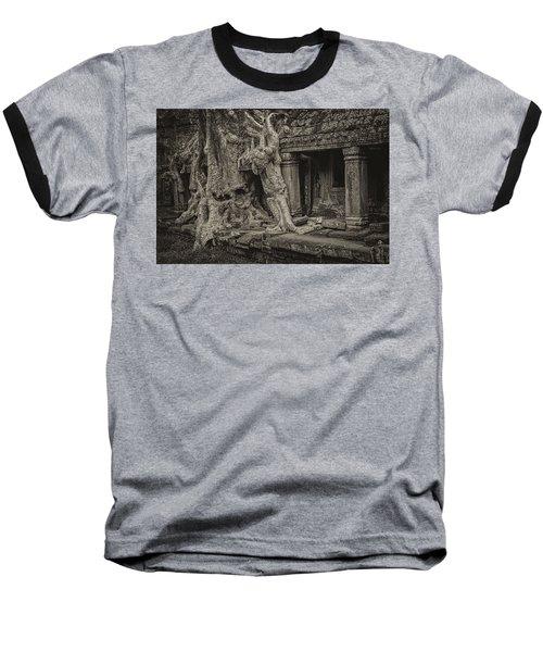 Roots In Ruins 7, Ta Prohm, 2014 Baseball T-Shirt