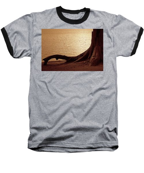 Baseball T-Shirt featuring the photograph Roots by Mim White