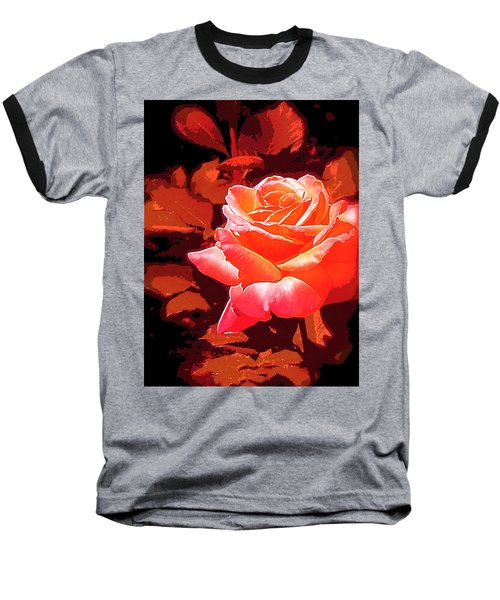 Baseball T-Shirt featuring the photograph Rose 1 by Pamela Cooper