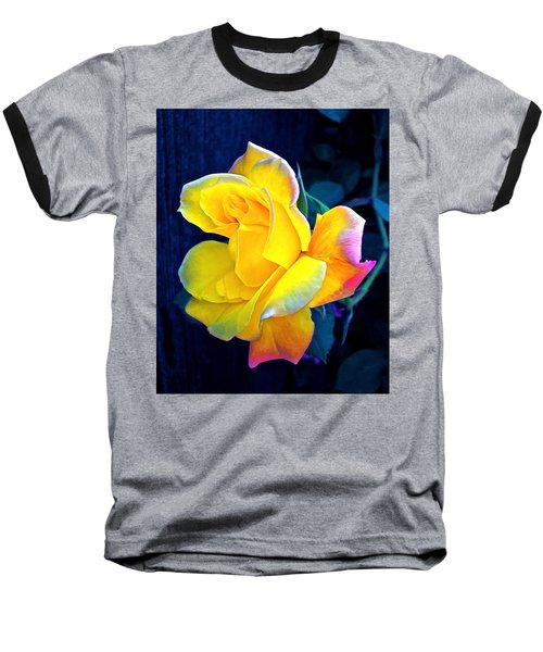 Baseball T-Shirt featuring the photograph Rose 4 by Pamela Cooper