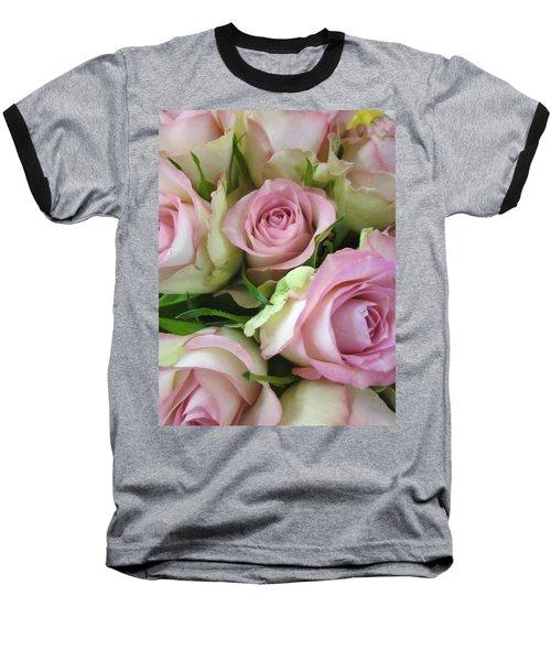 Rose Bed Baseball T-Shirt