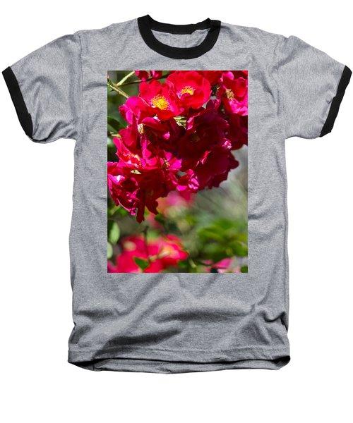 Rose Bouquet Baseball T-Shirt
