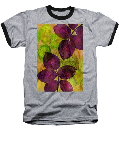 Rose Clippings Mural Wall Baseball T-Shirt