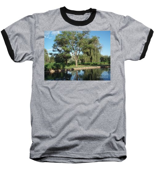 Baseball T-Shirt featuring the photograph Rose Garden  by Jeannie Rhode