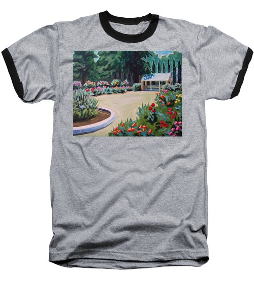 Rose Garden Baseball T-Shirt