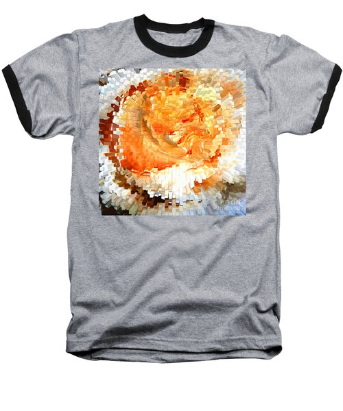Rose In Bloom Baseball T-Shirt