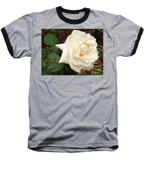 Rose In The Rain Baseball T-Shirt