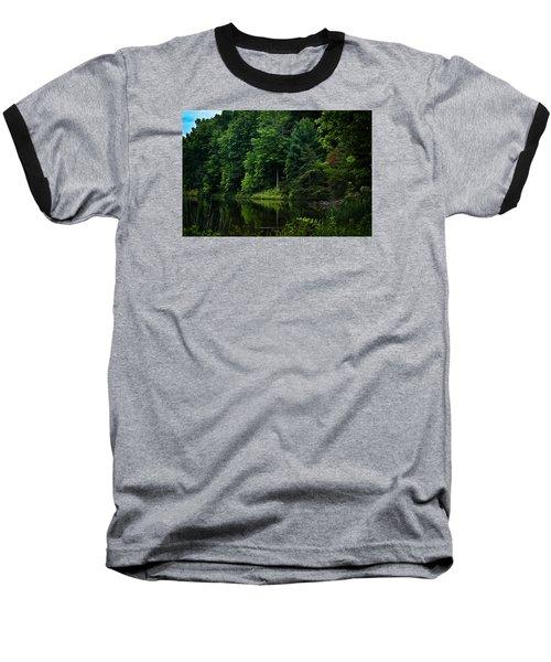 Rose Lake Beauty Baseball T-Shirt