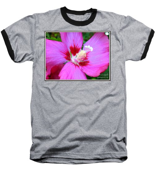 Baseball T-Shirt featuring the photograph Rose Of Sharon Hibiscus by Patti Whitten