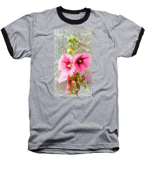 Rose Of The North Abstract. Baseball T-Shirt