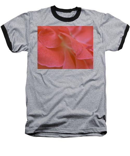 Rose Petals Baseball T-Shirt by Stephen Anderson