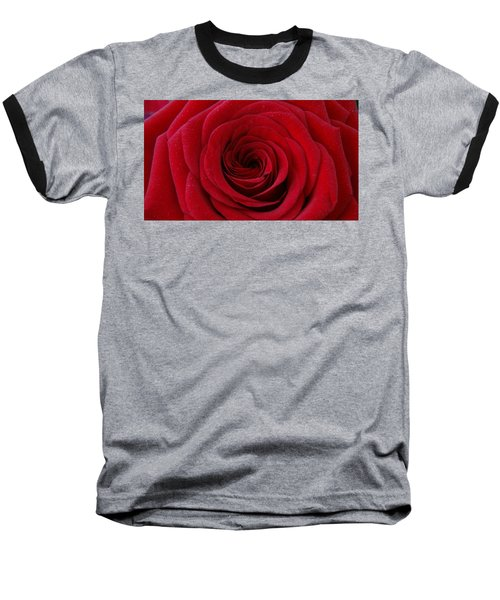 Baseball T-Shirt featuring the photograph Rose Red by Shawn Marlow