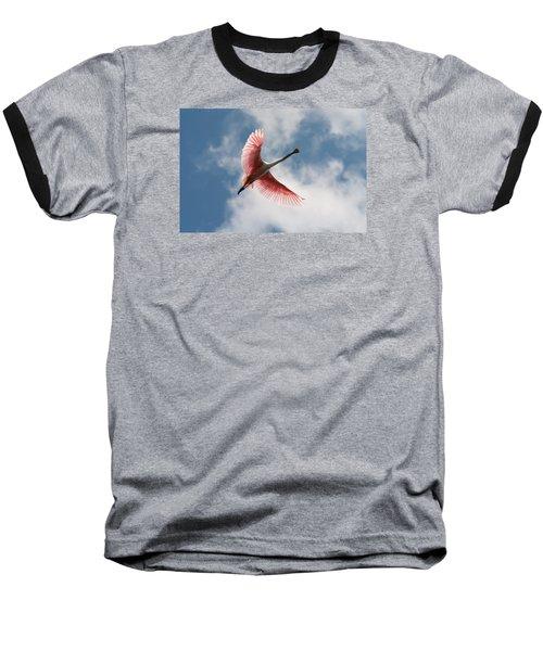 Roseate Soaring Baseball T-Shirt