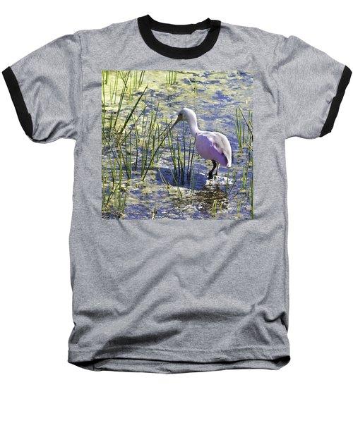 Roseate Spoonbill IIi Baseball T-Shirt