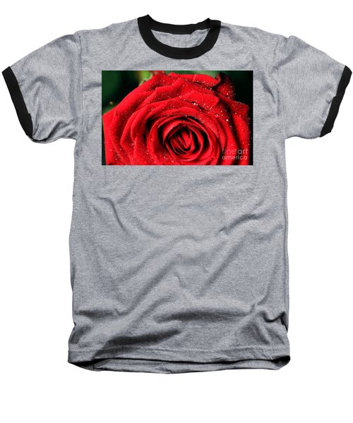 Baseball T-Shirt featuring the photograph Roses 4 by Mariusz Czajkowski