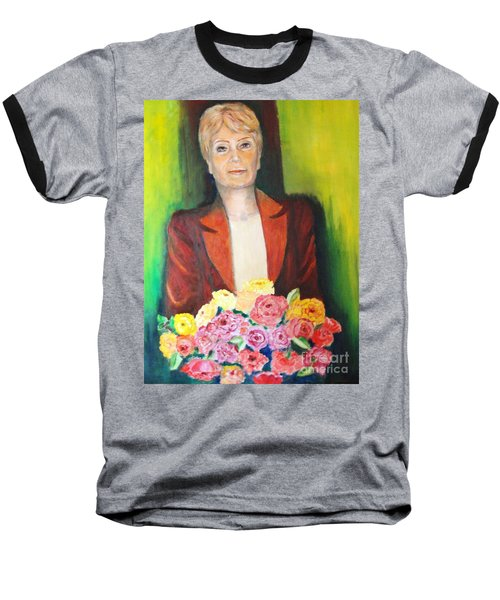 Roses For The Lady Baseball T-Shirt