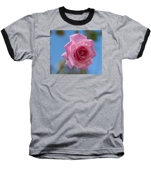 Roses In The Sky Baseball T-Shirt by Miguel Winterpacht