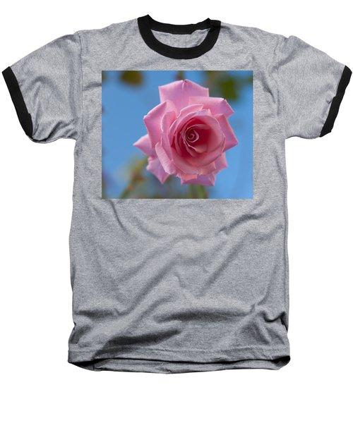 Roses In The Sky Baseball T-Shirt