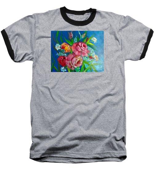 Roses Roses Jenny Lee Discount Baseball T-Shirt