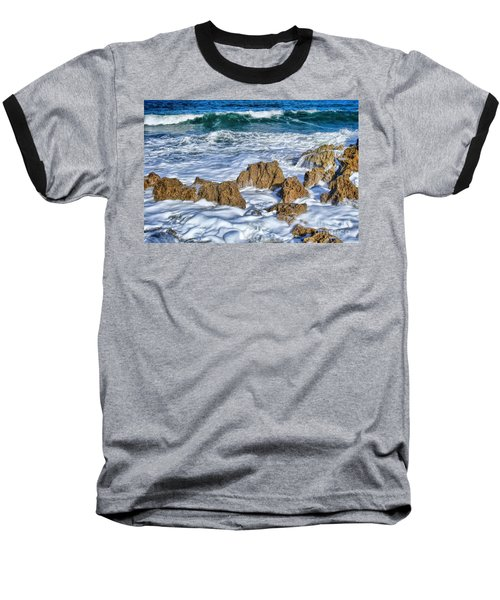 Baseball T-Shirt featuring the photograph Ross Witham Beach Stuart Florida by Olga Hamilton