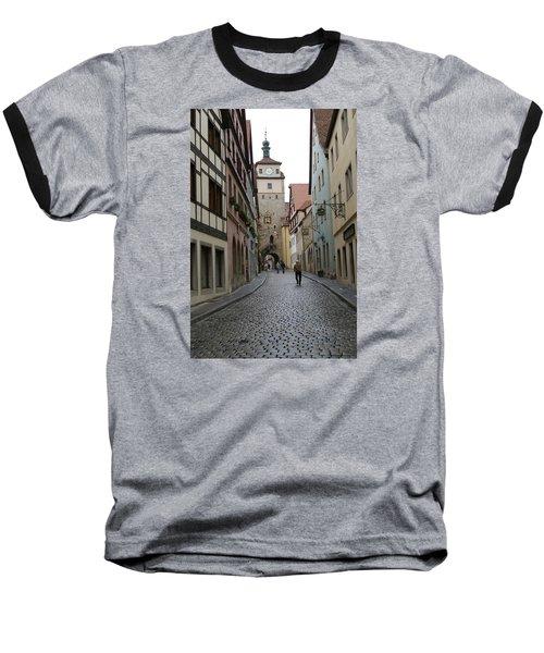 Rothenburg Ob Der Tauber Baseball T-Shirt by Heidi Poulin