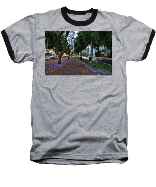 Rothschild Boulevard Baseball T-Shirt