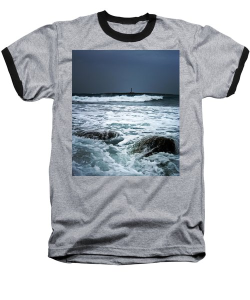 Coastal Storm Baseball T-Shirt